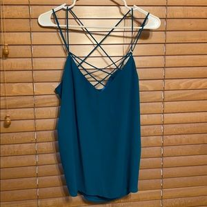 Express blue camisole
